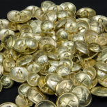 Guzik górniczy złoty śr. 16, 22 i 25 mm