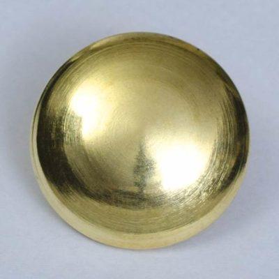 Guzik uniwersalny gładki złoty śr. 25 mm
