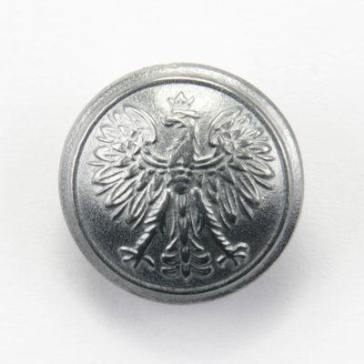 Polski guzik wojskowy wzór 1928 z orzełkiem cyna śr. 22 mm