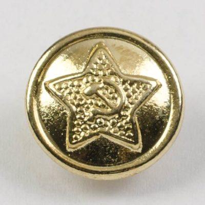 Radziecki guzik wojskowy CCCP ZSRR śr. 14 mm