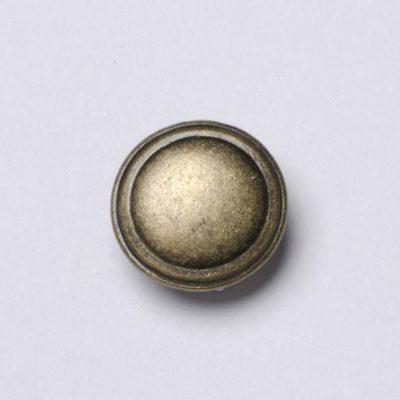 Guzik uniwersalny gładki kolor stary mosiądz śr. 16 mm