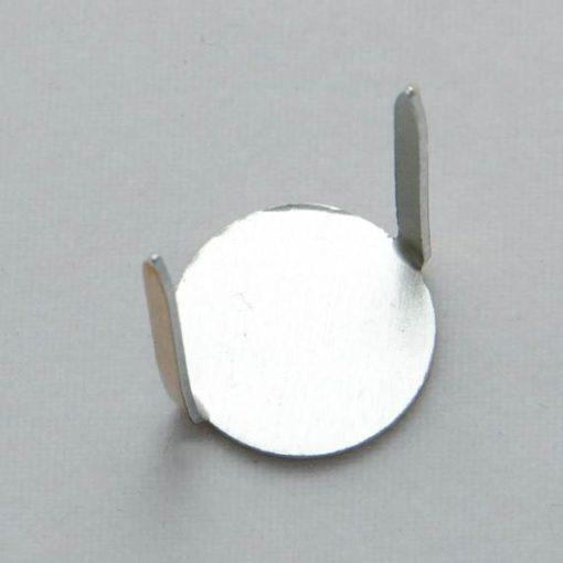 Rozetka - stopień górniczy do munduru śr. 12 mm, aluminium