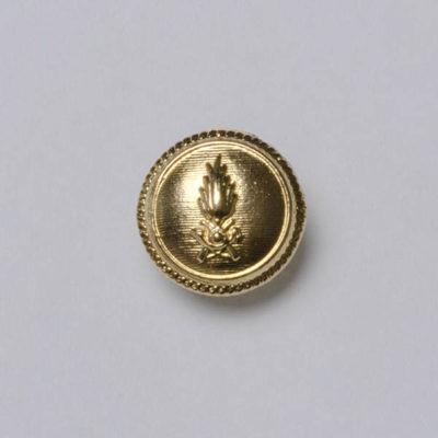 Guzik Włoskiej Gwardii Finansowej złoty śr. 15 mm