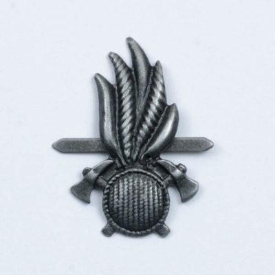 Korpusówka Strażacka Historyczna, stare srebro, wąsy