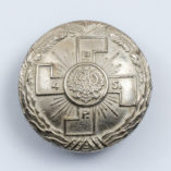 Przypinka wojskowa z orłem wz. 1928 kolor stare srebro