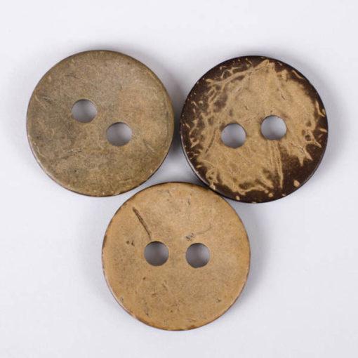 Guzik kokosowy do przyszycia 30 mm