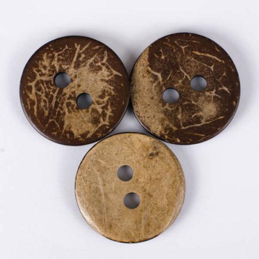 Guzik kokosowy do przyszycia 34 mm