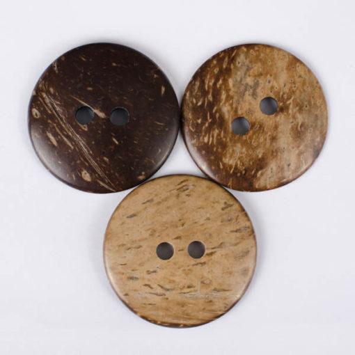Guzik kokosowy do przyszycia 44 mm