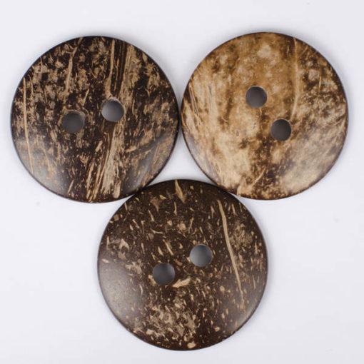 Guzik kokosowy do przyszycia 63 mm