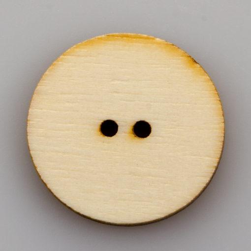 Guzik drewniany Mandala Indie 2 dziurki różne wzory MIX