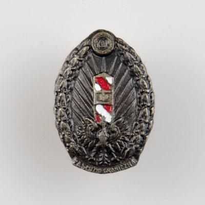Odznaka KOP (Korpus Ochrony Pogranicza) i Straży Granicznej