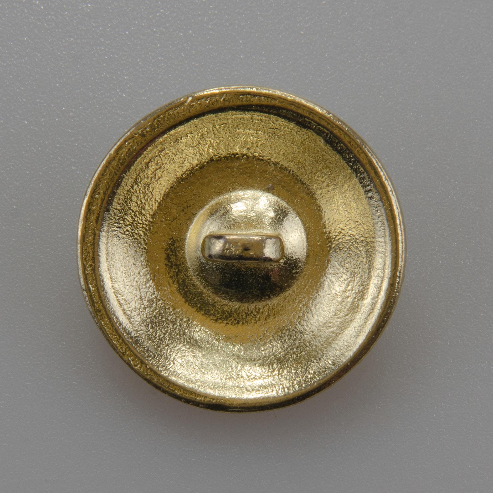 Marynarski guzik wojskowy wzór 2019 złoty śr. 22 mm ozdobny