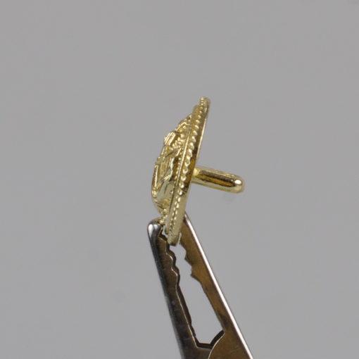 Marynarski guzik wojskowy wzór 2019 złoty śr. 16 mm