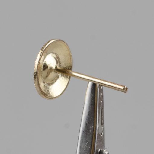 Marynarski guzik wojskowy wzór 2019 złoty śr. 16 mm wąs