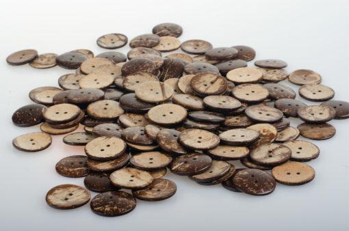Guziki kokosowe do przyszycia 20 mm