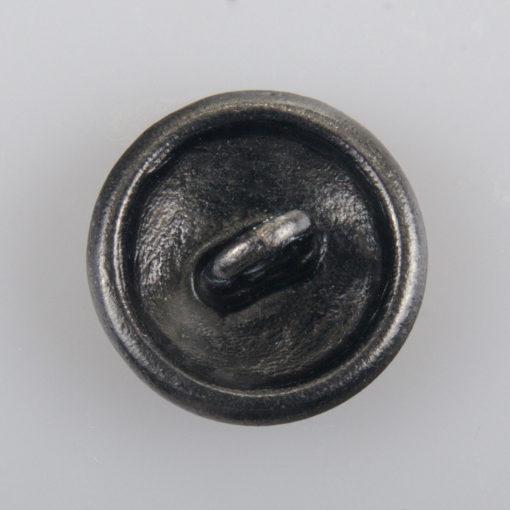 Policyjny guzik z orłem kolor stare srebro śr. 22 mm wzmocnienie werniks (Nowy wzór 2018)