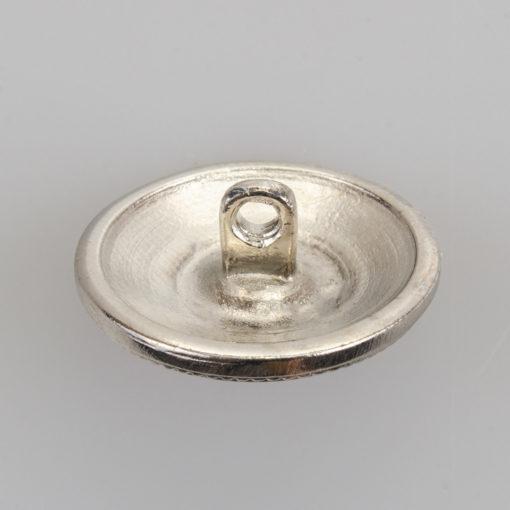 Guzik z herbem kolor srebrny śr. 22 mm