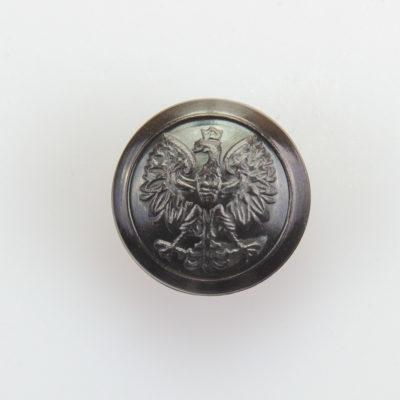 Służba Leśna, Celna guzik współczesny z orłem kolor ciemny brąz śr. 16 mm