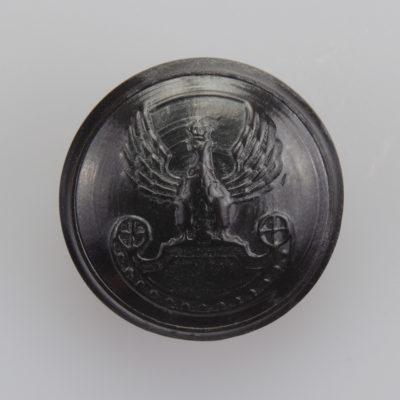 Wojska Lądowe guzik współczesny z orłem kolor ciemny brąz śr. 22 mm