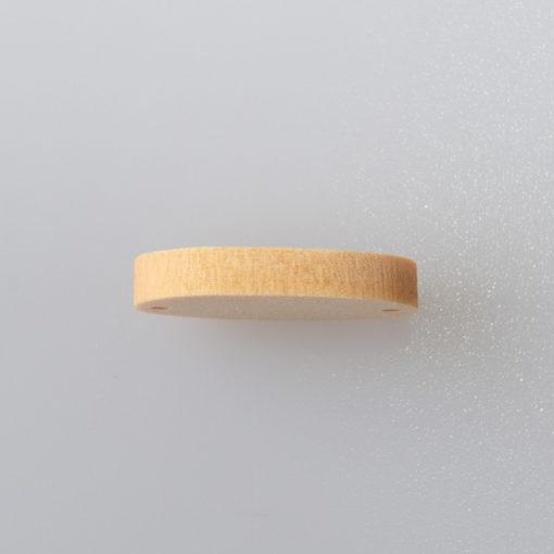 Plakietka owalna do przyszycia Hand Made 19 x 12mm DIY