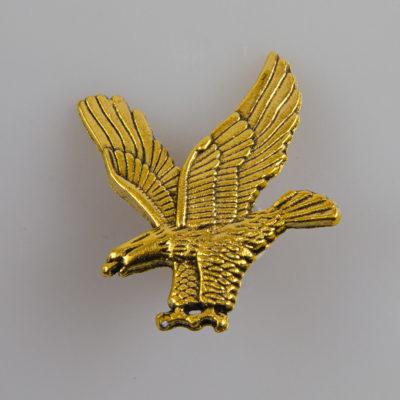 Orzeł znaczek na pin/ szpilkę kolor złoty