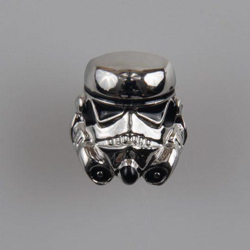 Szturmowiec (Stormtroopers) Star Wars znaczek na pin/ szpilkę kolor srebrny