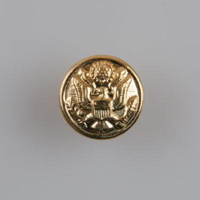 Guzik wojskowy armii USA II wzór 1902 złoty śr. 16 mm