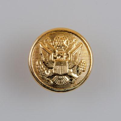 Guzik wojskowy armii USA II wzór 1902 złoty śr. 22 mm