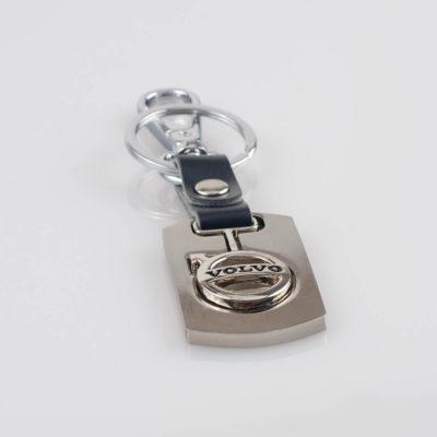 Brelok do kluczy z napisem Volvo, metal 114mm x 30mm