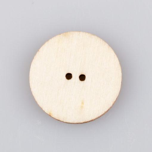 Guzik drewniany Mandala Indie Buddyzm, 2 dziurki różne wzory MIX, śr. 20mm (Wzór nr 1)