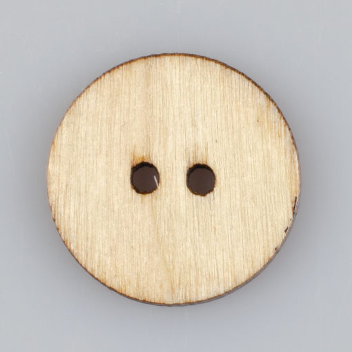 Guzik drewniany Mandala Indie Buddyzm, 2 dziurki, śr. 25mm (Wzór nr 10)